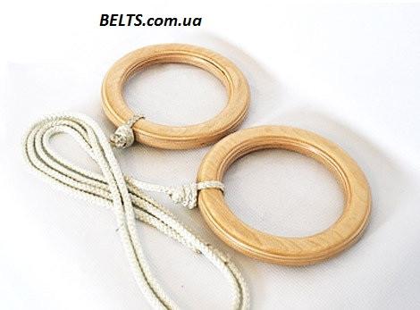 Гимнастические кольца для детей (gymnastic rings) Лак