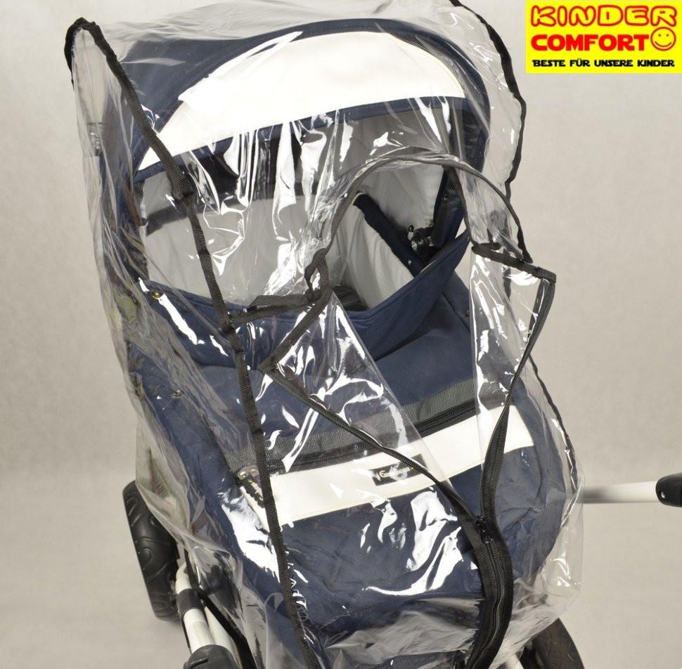 Универсальный силиконовый дождевик для люльки, с молнией, Kinder Comfort