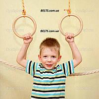 Гимнастические детские кольца для дома, gymnastic rings, фото 1