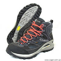 Треккинговые ботинки АKU Transalpina W'S GTX (black - fluo red), размер EUR 38