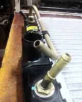 Оригинальный узкий радиатор охлаждения General Motors 96351262 на Ланос с АКПП без кондиционера 1997-2002г