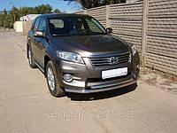 Защита переднего бампера Toyota Rav4