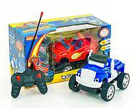 Машина 828-75/76, Вспыш или Громила, на батарейках, пульт управления, герои мультика, веселые гонки, в коробке