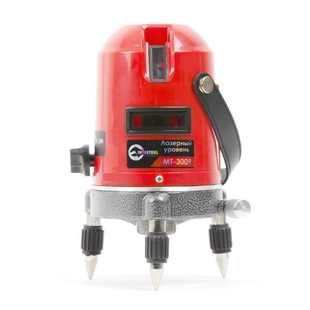 Уровень лазерный INTERTOOL MT-3009, фото 1