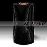 Джамбо-рулон чёрной стретч-пленки 20 мкм