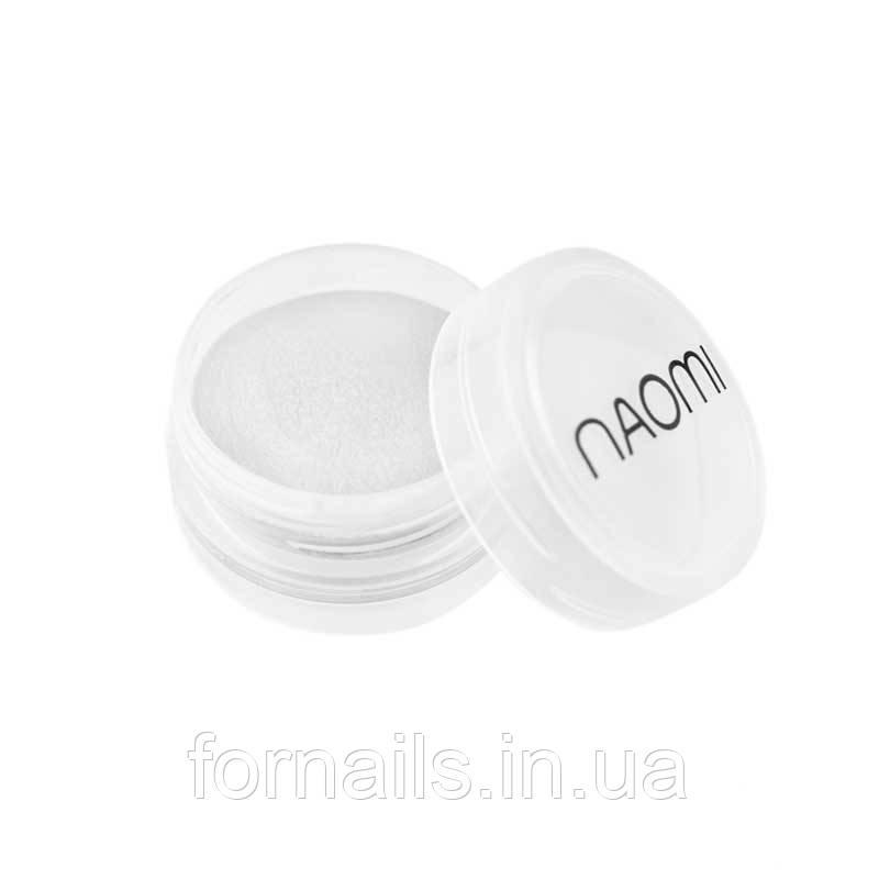 Акриловая пудра Naomi № 001, 3 г, цвет белый