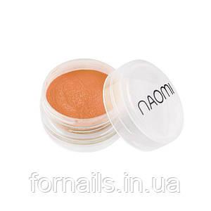 Акриловая пудра Naomi № 004, 3 г, цвет оранжевый