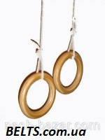 Кольца для гимнастики детей (gymnastic rings) Лак, фото 1