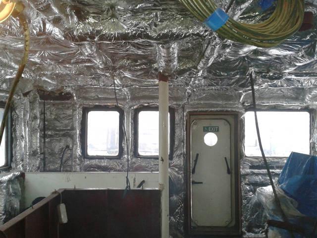 Теплоизоляционные работы корпуса и трубопроводов 9