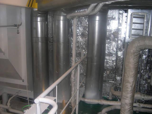 Теплоизоляционные работы корпуса и трубопроводов 10