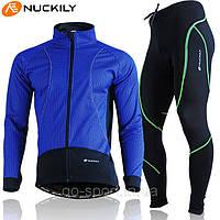 Велокостюм Nuckily blue