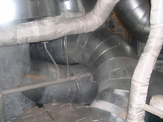 Теплоизоляционные работы корпуса и трубопроводов 12