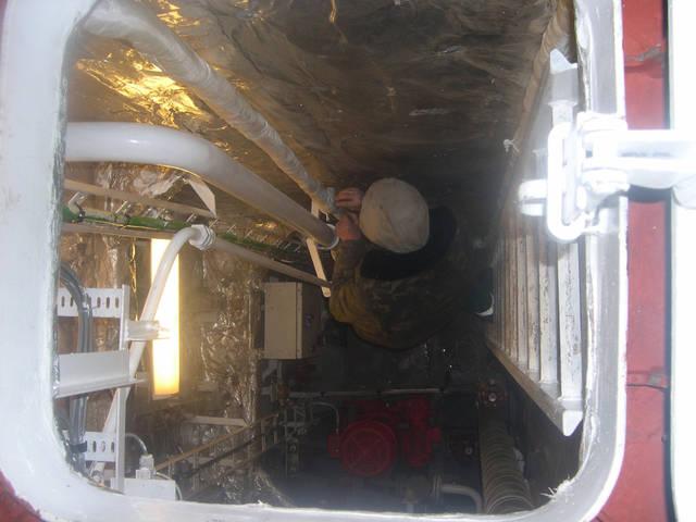 Теплоизоляционные работы корпуса и трубопроводов 16