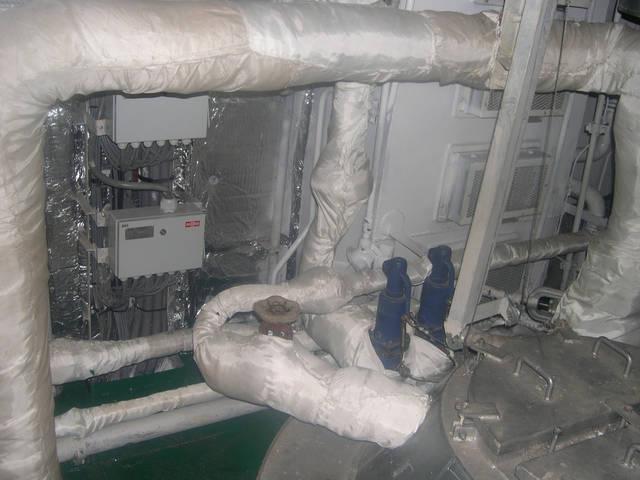 Теплоизоляционные работы корпуса и трубопроводов 17