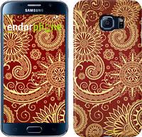 "Чехол на Samsung Galaxy S6 G920 Узор v5 ""1230c-80"""