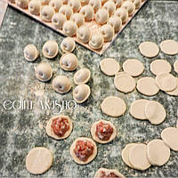 Домашние пельмени (свинина, свин.гов., курица, индейка) ручной лепки