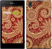 """Чехол на Sony Xperia Z1 C6902 Узор v5 """"1230m-38"""""""