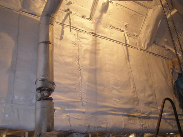 Теплоизоляционные работы корпуса и трубопроводов 18