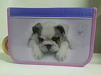 "Пенал CLASS ""Lovely Pets"" арт.95026, 1 молния, 2 отворота, ПУСТОЙ"