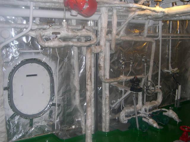 Теплоизоляционные работы корпуса и трубопроводов 25