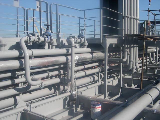 Теплоизоляционные работы корпуса и трубопроводов 26