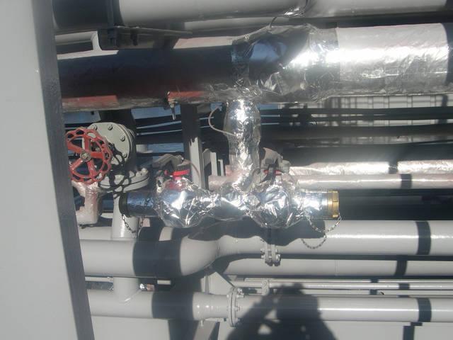 Теплоизоляционные работы корпуса и трубопроводов 27