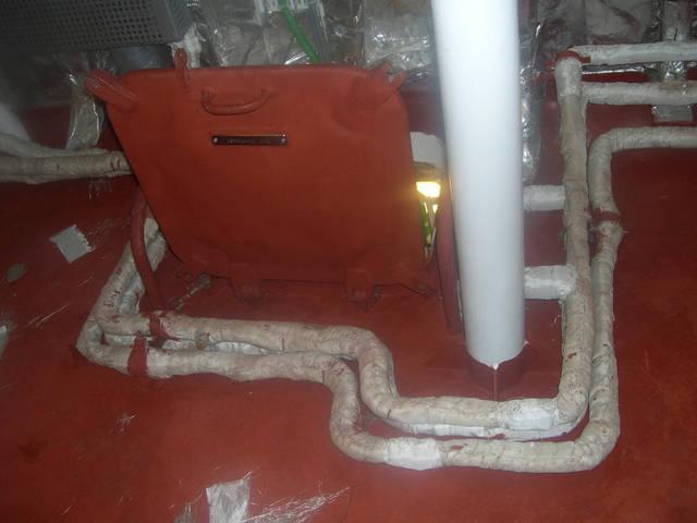 Теплоизоляционные работы корпуса и трубопроводов 28