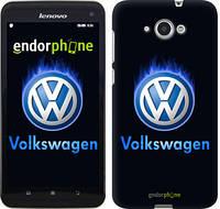 "Чехол на Lenovo S930 Volkswagen. Fire logo ""3141u-236"""
