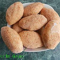 Зразы картофельные (мясо, грибы, капуста) ручная лепка