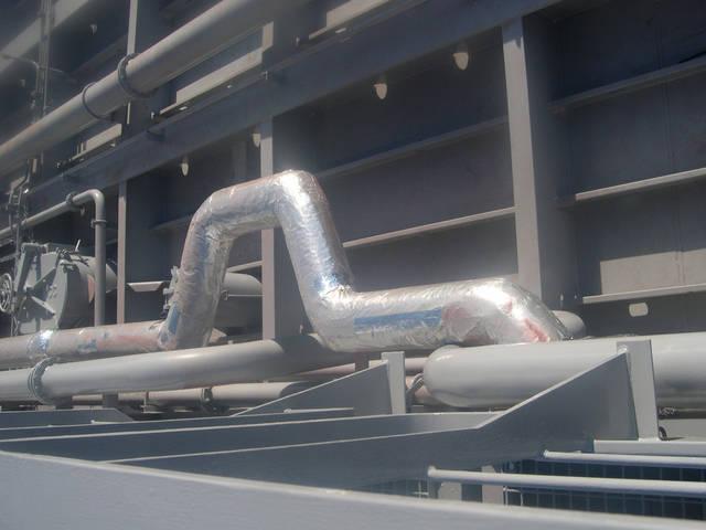Теплоизоляционные работы корпуса и трубопроводов 30