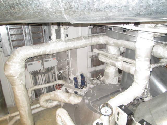 Теплоизоляционные работы корпуса и трубопроводов 38