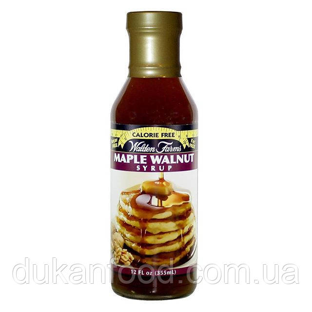 Walden Farms Кленово - Ореховый Сироп / Maple Walnut Syrup