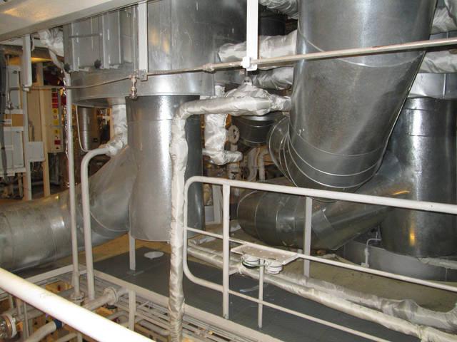 Теплоизоляционные работы корпуса и трубопроводов 40