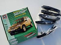 Ручки дверей наружные Шеви-Нива 2123 (евроручки ВАЗ 2123 Тюн-Авто компл. 5 шт.) черные неокрашенные