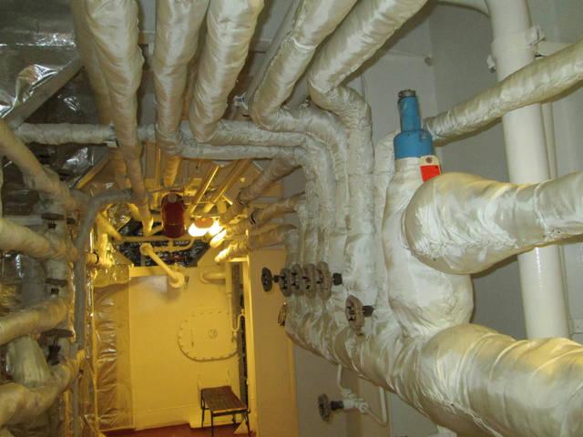 Теплоизоляционные работы корпуса и трубопроводов 41