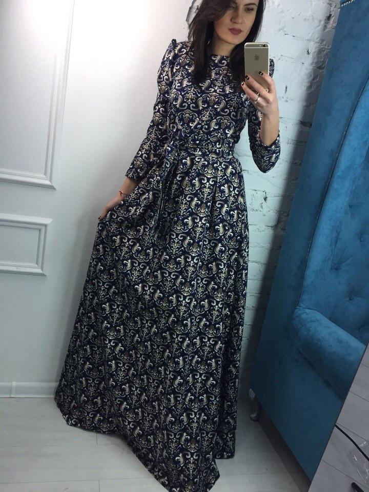 4e03a9b7785 Шикарное длинное платье