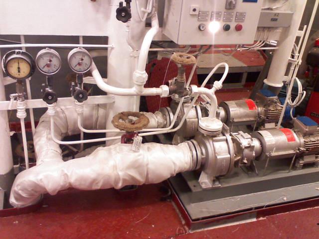 Теплоизоляционные работы корпуса и трубопроводов 45