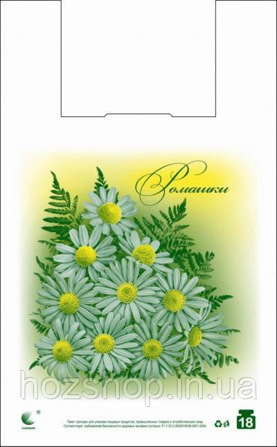 """Пакет майка """"Романтика"""" Комсерв (29x47) (уп.250шт)"""