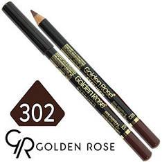 Golden Rose - Карандаш для глаз Eye Liner Тон №302 dark coffee матовый