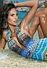 Цветной слитный купальник  She Alexis 2028/03