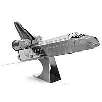 Конструктор металлический 3D Шаттл Discovery Space Shuttle MMS015D