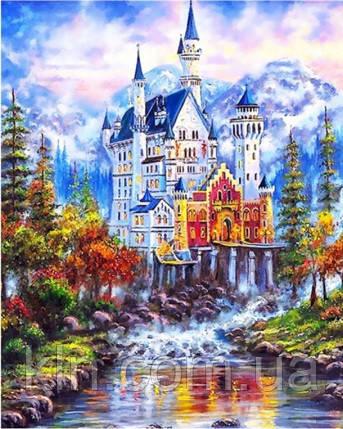 Алмазная мозаика Сказочный дом KLN 30*40 см (арт. FS375)
