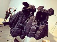 Куртки с ушками для мамы и ребенка