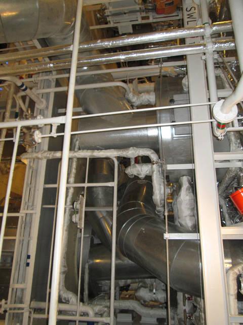 Теплоизоляционные работы корпуса и трубопроводов 48