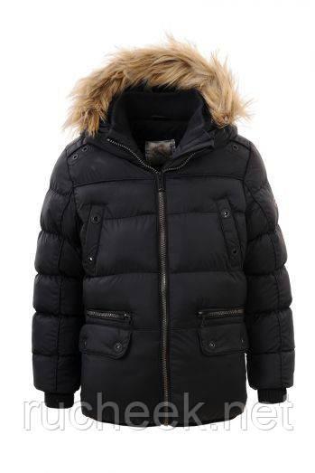 Теплая зимняя куртка для мальчика рост 92- 98,  GLO-Story BMA-2735