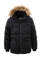 Теплая зимняя куртка для мальчика рост 92- 98,  GLO-Story BMA-2735, фото 1