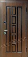 Двери входные Белорусский Стандарт Квадро дуб темный рустик+патина