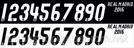 Нанесение номера и фамилии Real Madrid 16\17, фото 2