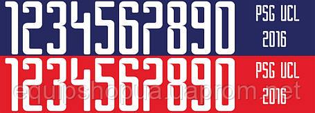 Нанесение номера и фамилии PSG 16\17, фото 2