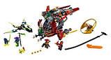 Конструктор  10398 Ninjago / ниндзяго Ниндзя NINJA Летательный аппарат , фото 6